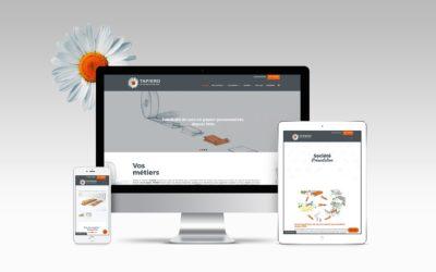 Le nouveau site internet Tapiero