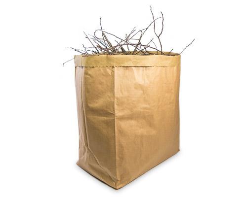 Sacs en papier robuste pour les paysagistes