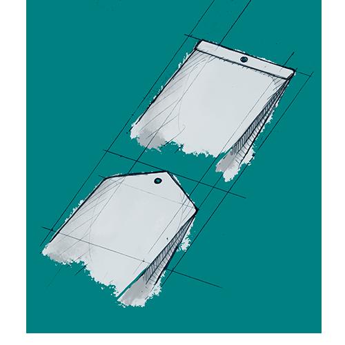 Sacs en papier perforés