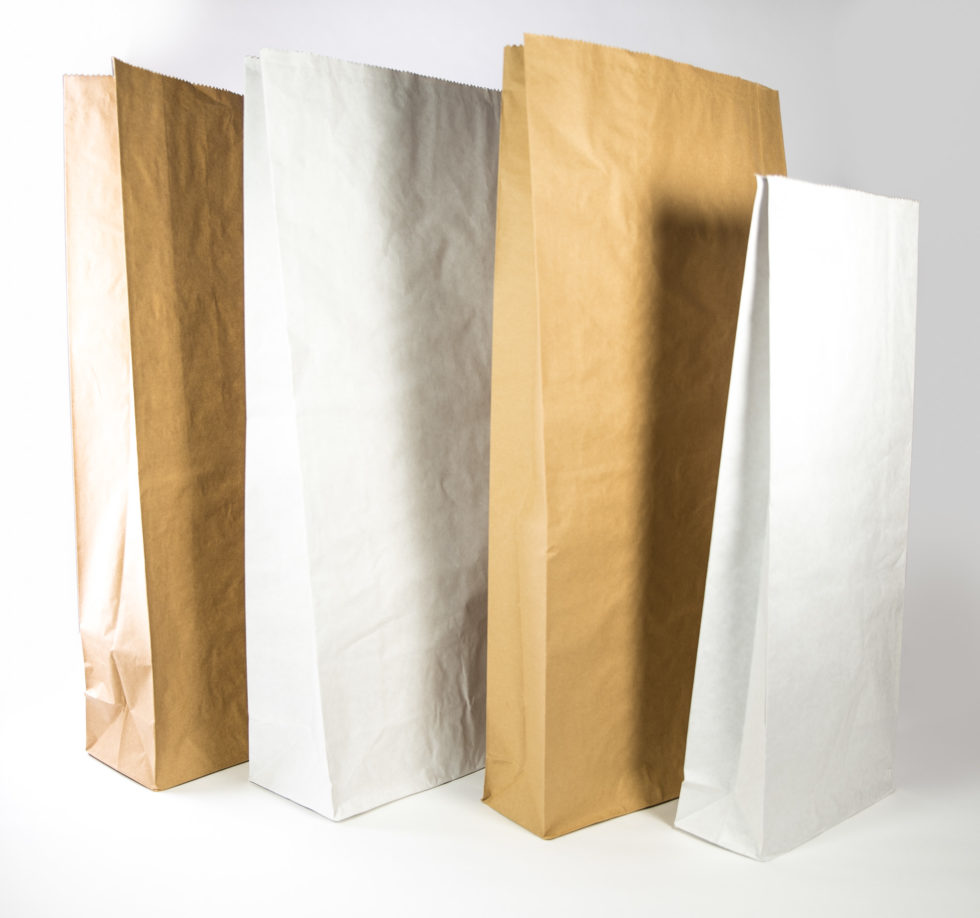 Sac en papier 3 soufflets pour recherche agronomique