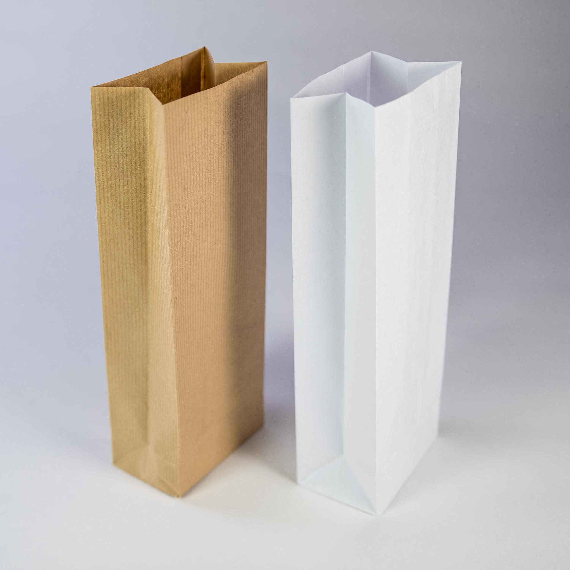 Sac en papier 3 soufflets 500g pour farine