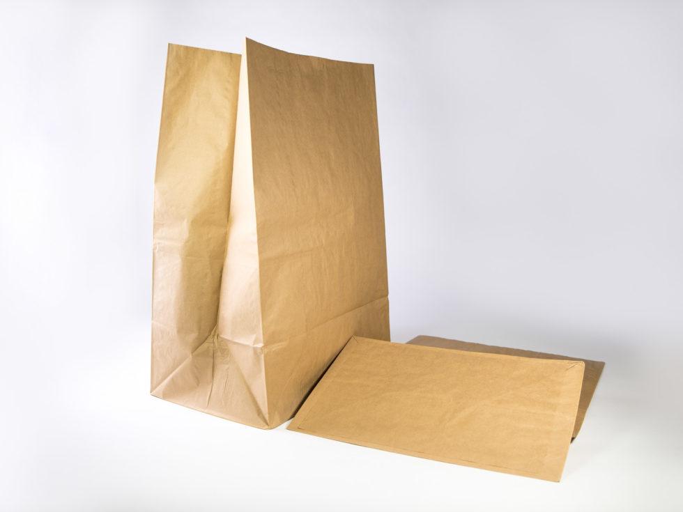 Sac en papier 3 soufflets