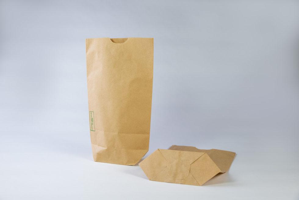 Sac écorné en papier recyclé