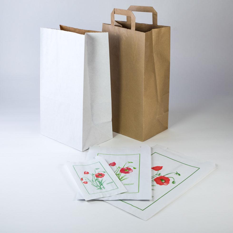 Sacs en papier pharmacie