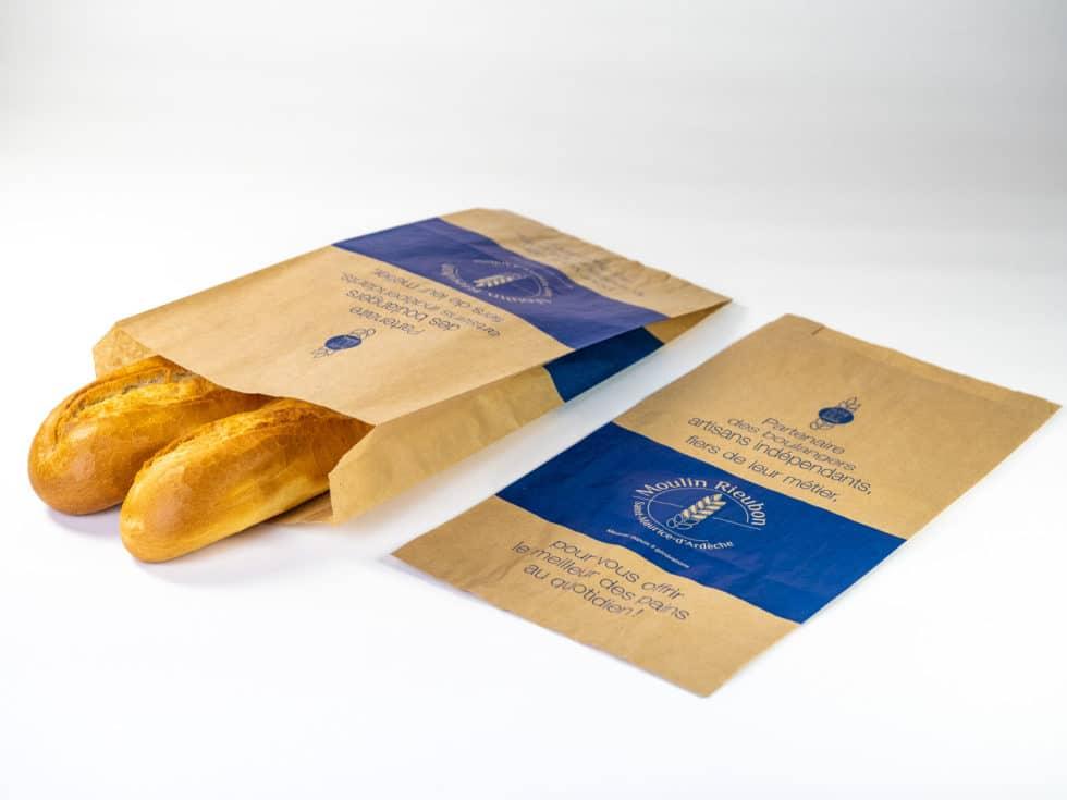 le sac de regroupement de pains