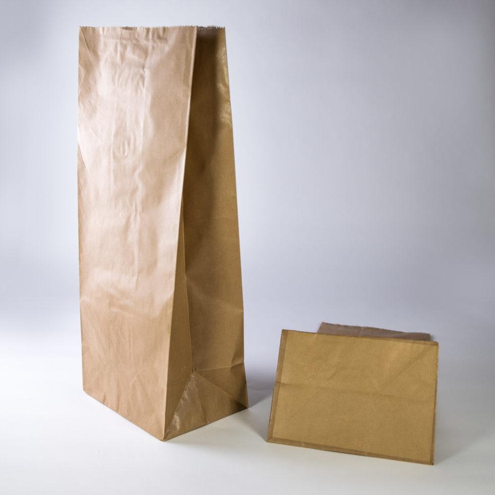 Sac en papier pour farines 3 soufflets renforcé
