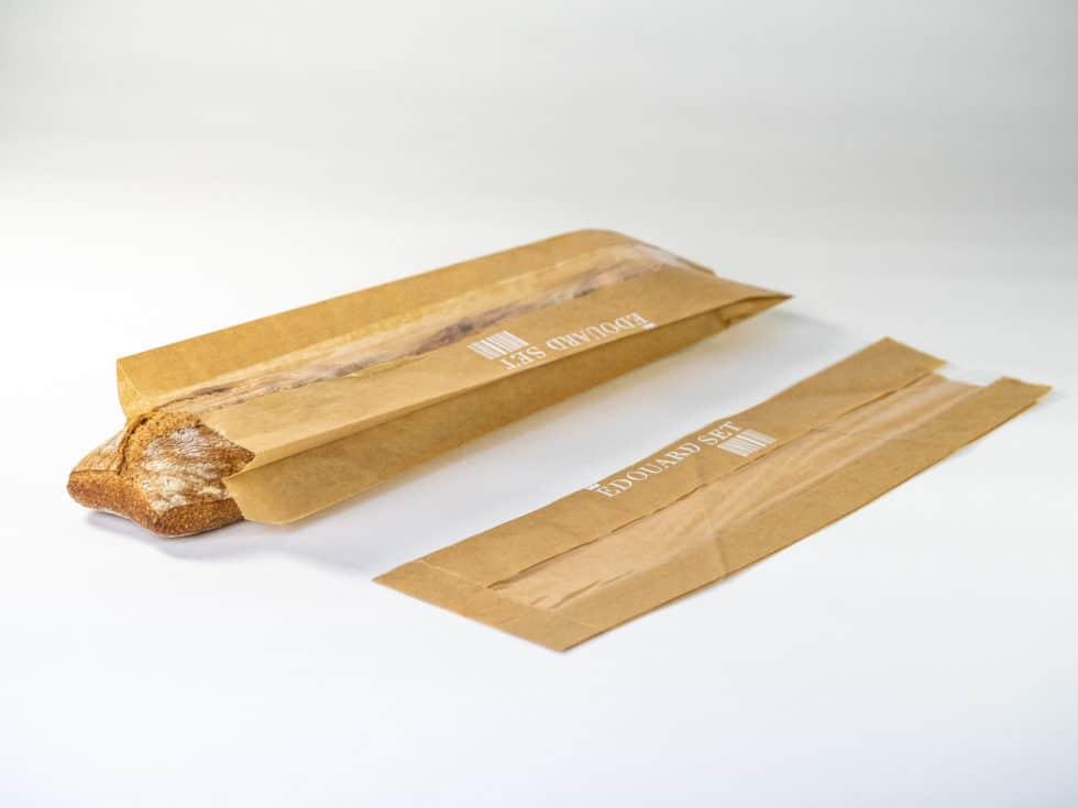 sac à pain avec fenêtre