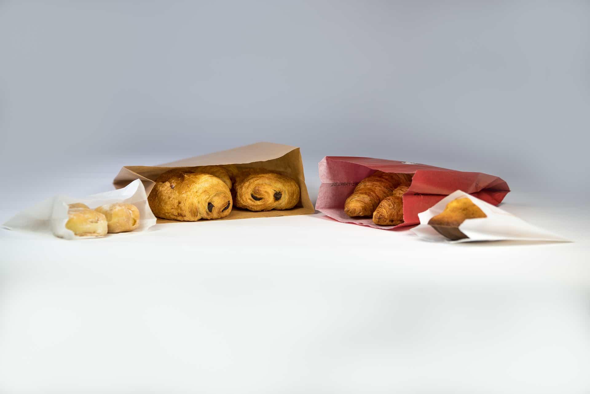 Sac en papier kraft pour les boulangeries
