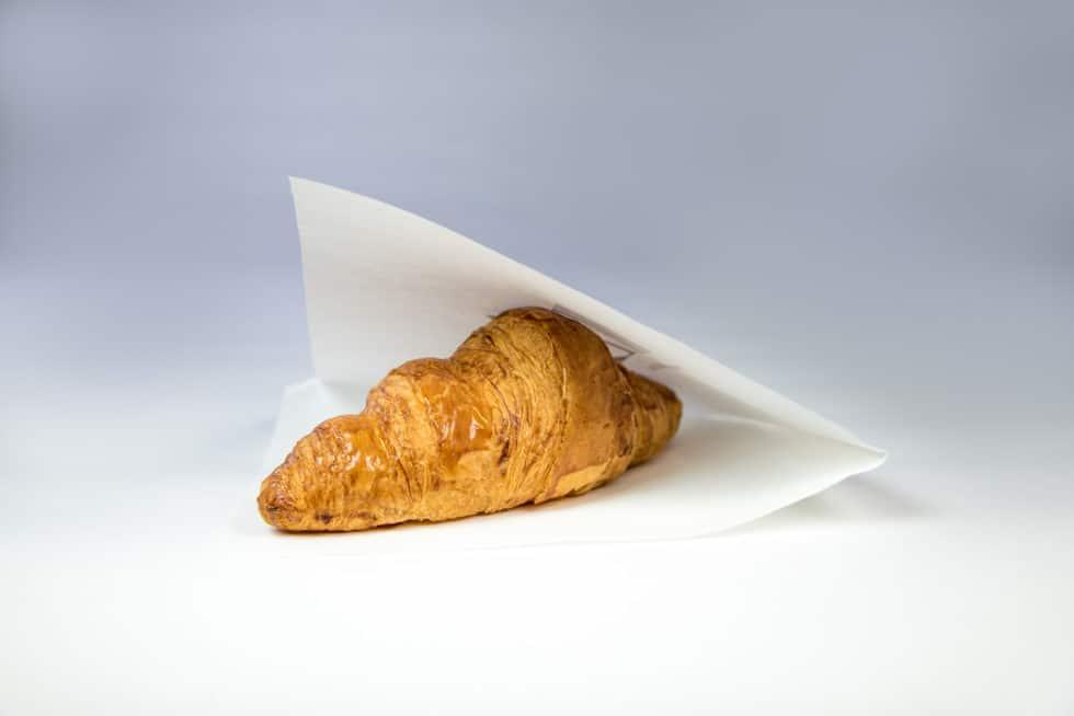 Sac en papier plat crêpe ingraissable