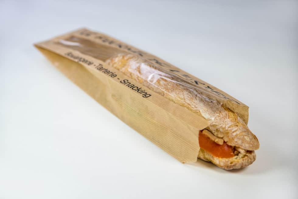 Sac sandwich avec fenêtre