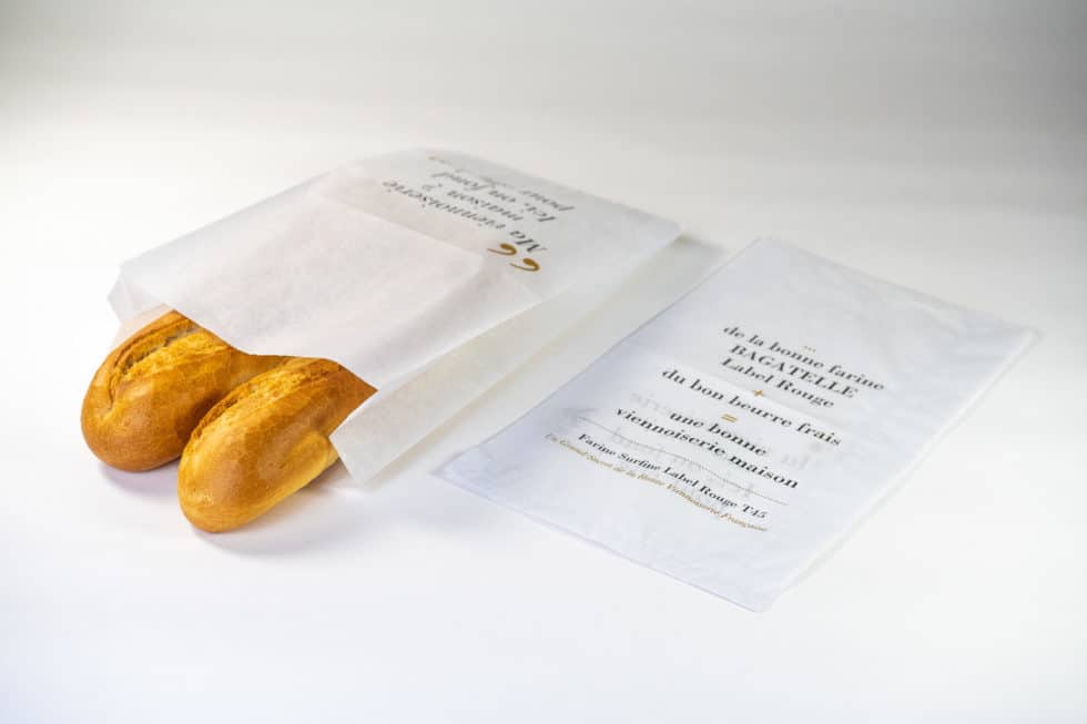 sac à pain publicitaire 2 soufflets