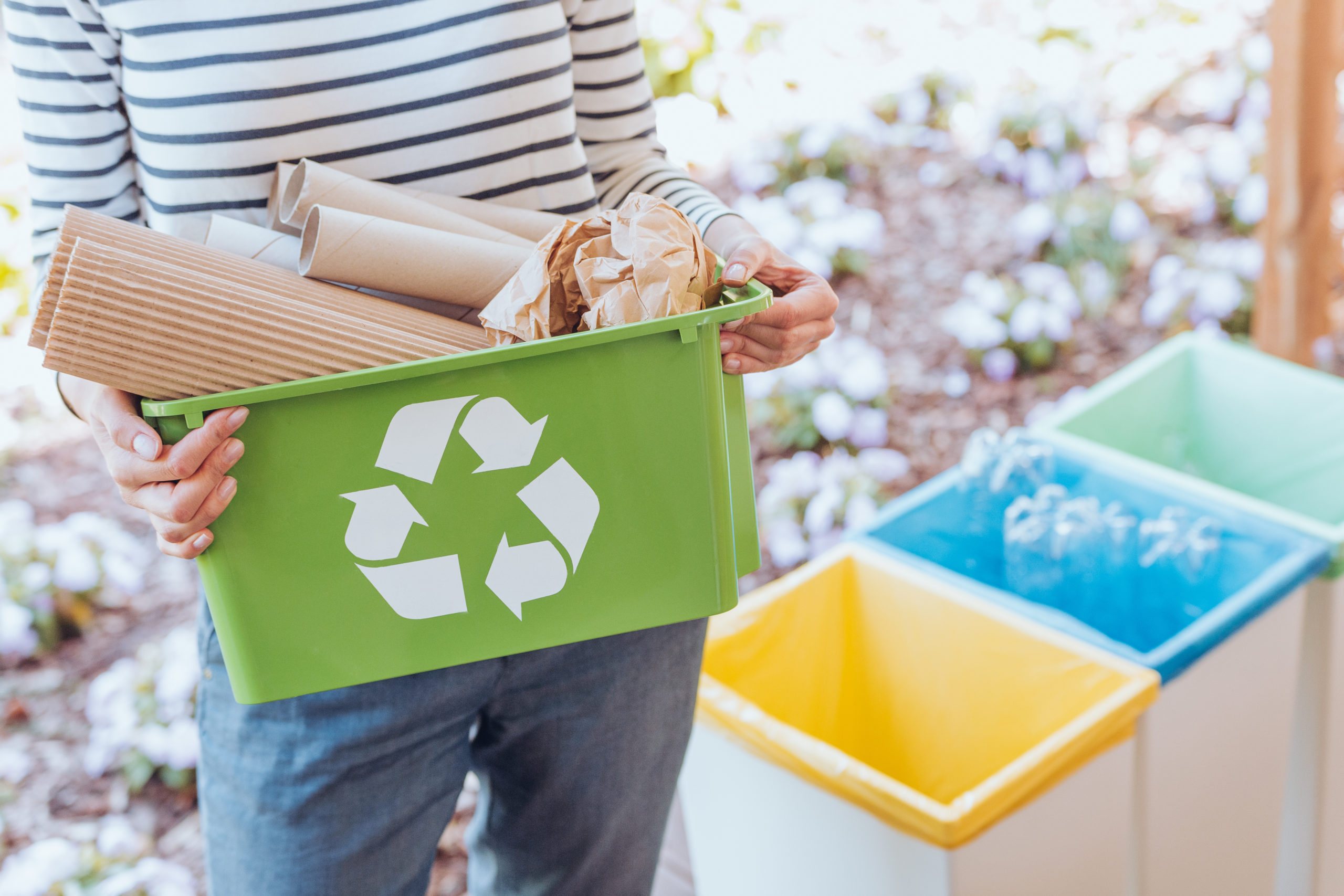 Recyclage des emballages papier-carton