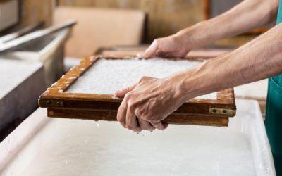 Fabrication du papier : l'industrie papetière française