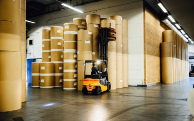 Stockage et conditionnement du papier en industrie