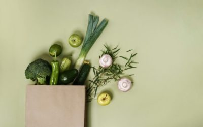 Sachet papier pour fruits et légumes, du vert dans nos rayons